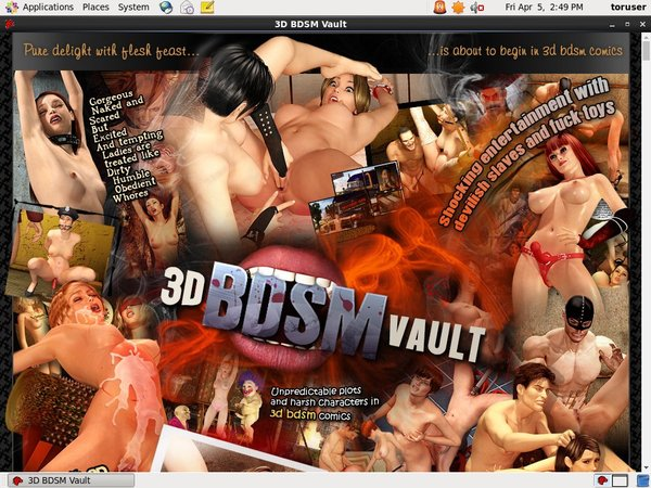 3D BDSM Vault Working Pass