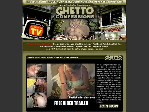 Ghettoconfessions Membership