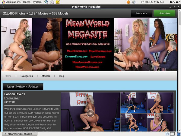 Meanworld.com Account And Password