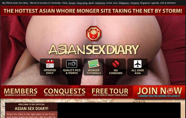 Asian Sex Diary 사용자 이름