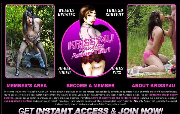 Free Krissy4u.com Username And Pass