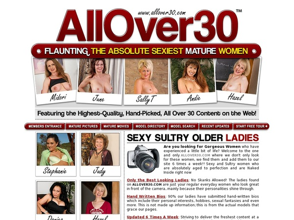 Free Password To Allover30