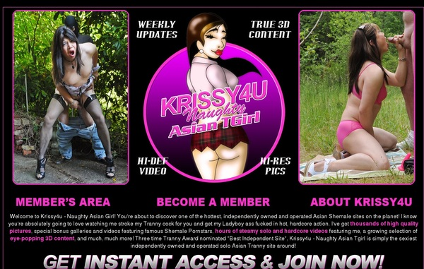 Krissy 4 U New Account
