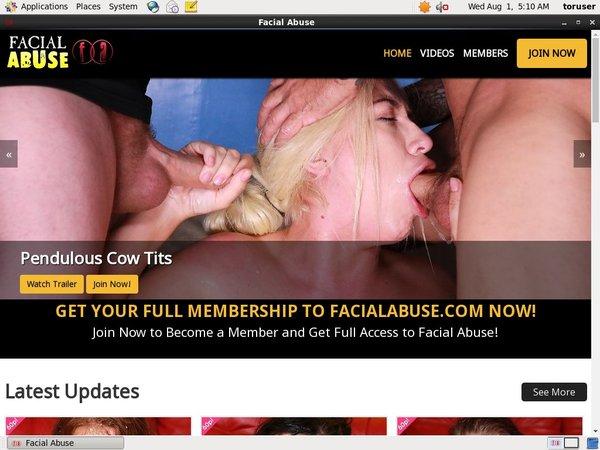 Full Free Facial Abuse