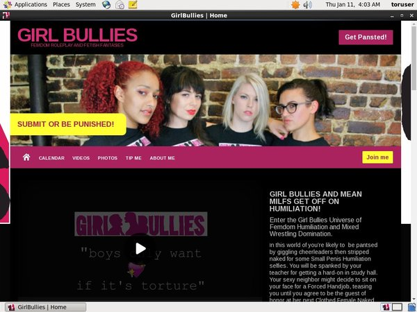 Girlbullies.com Special Offer