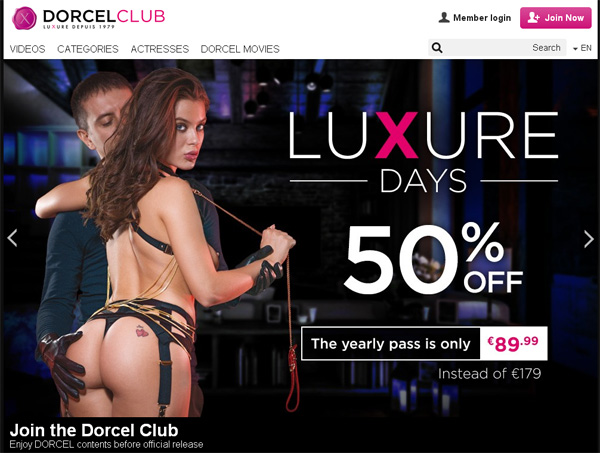 Dorcel Club Discount Codes