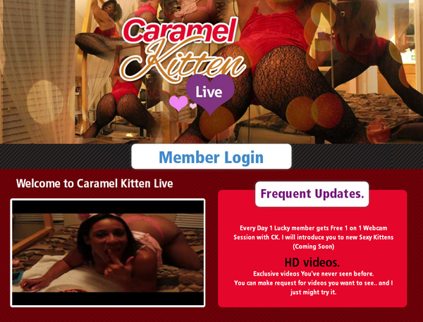 Caramelkittenlive Free Account And Password