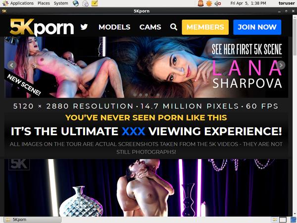 Free 5K Porn Code